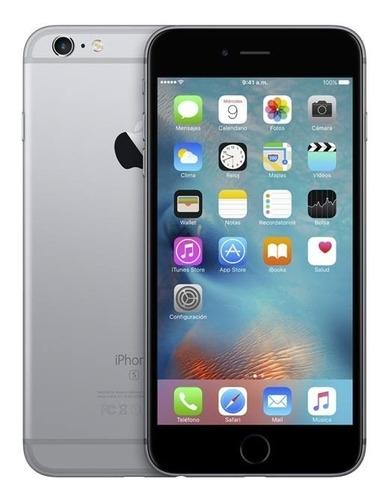 iphone 6s plus 128 gb gris con accesorios y libre
