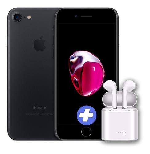 iphone 7 original 32gb garantia + auriculares bt bde