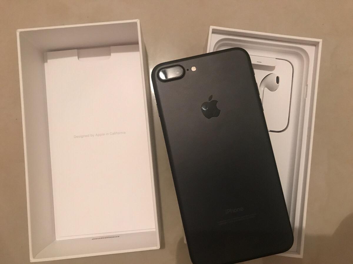 81f9ac3fc6a iPhone 7 Plus 128gb Negro Mate Inmaculado En Caja Permuto - U$S 950 ...