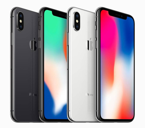 iphone x (10) 64gb sellados y libres - 1 año de garantía.