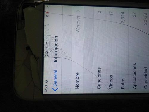 ipod 6ta generación 32gb