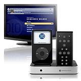 ipod control remoto inteligente con base para ipod video