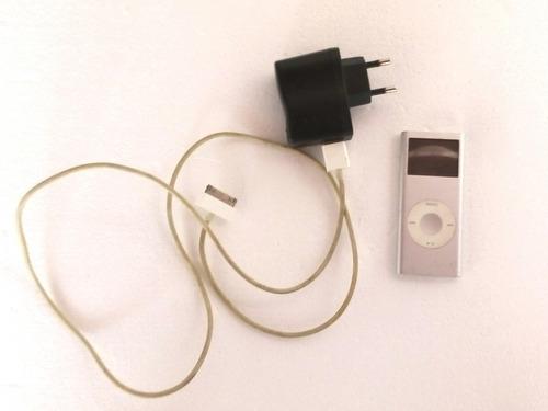 ipod nano 4gb con cargador