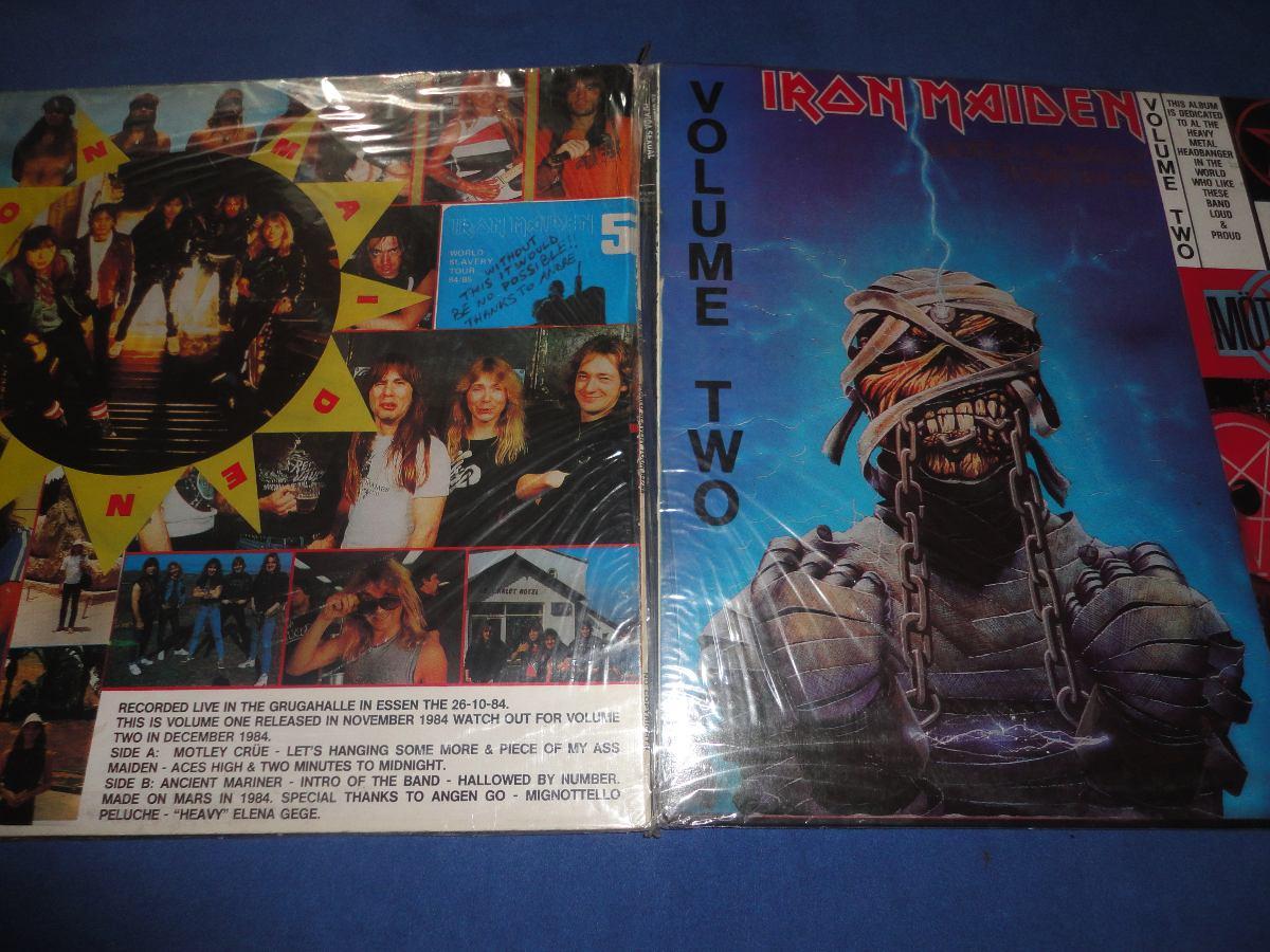 Iron Maiden - World Slavery Tour 84/85(vinilo Imp bootleg!!! - U$S 200,00