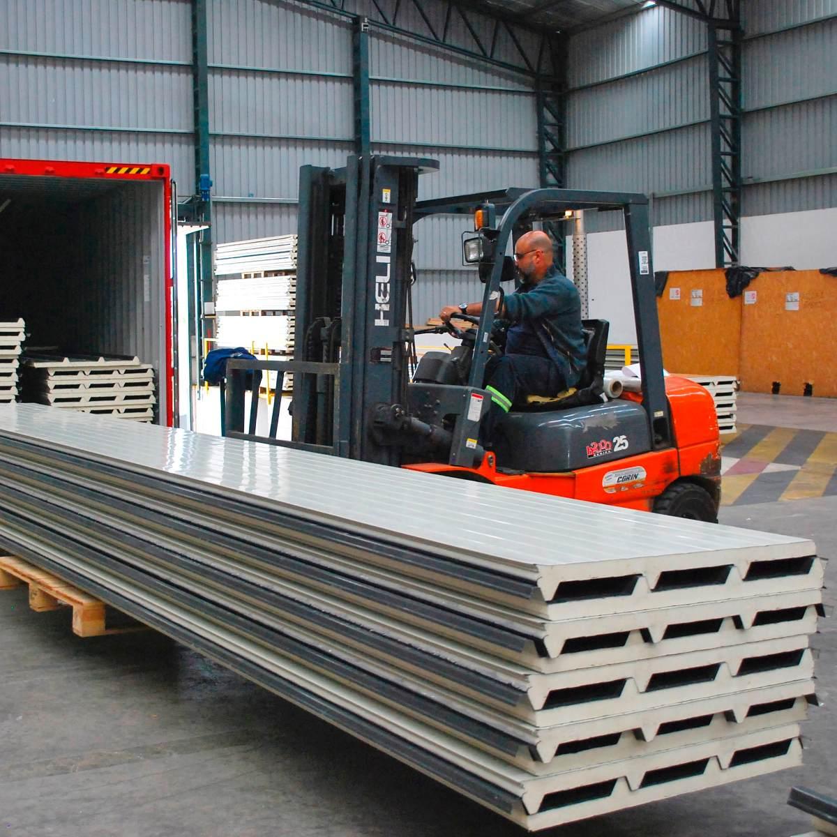 Isopanel paneles t rmicos para techos de poliuretano u - Paneles de poliuretano ...