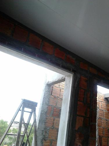 isopanel techo 10cm, ya instalado, terminaciones incluidas