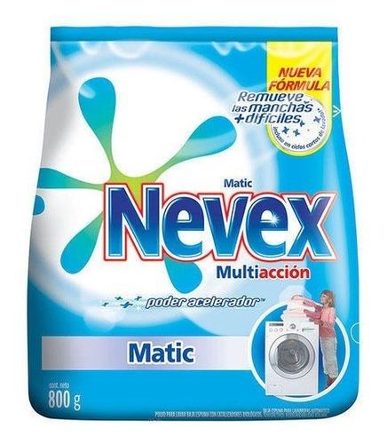 jabón en polvo para ropa nevex clasico 800 g