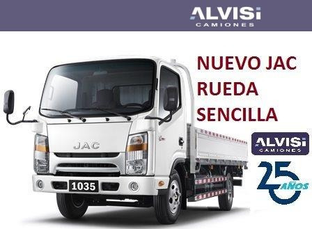 jac 1035 cabina nueva motor 2.8 precio sin iva