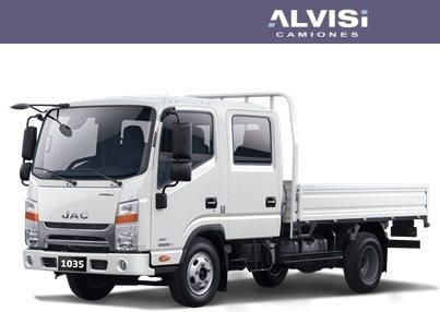 jac 1035 kr doble cabina rueda simple precio iva incluido