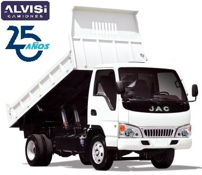 jac 1040 doble rueda con volcadora b. rebatibles abs sin iva