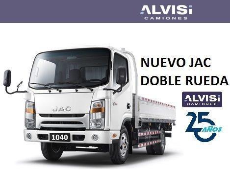 jac 1040kt nuevo jac doble rueda 4.3m de caja + iva