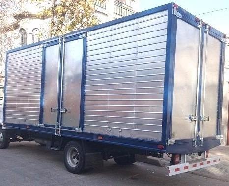 jac 1063 c/ furgón isopanel o aluminio de 6x2.30x2.10 + iva