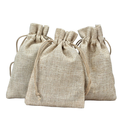 jaciya 24 piezas de bolsas de arpillera con bolsas de reg
