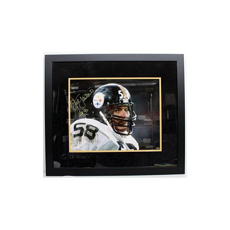 Jack Lambert Firmó El Autografo Pittsburgh Steelers 16x20 Fo ...