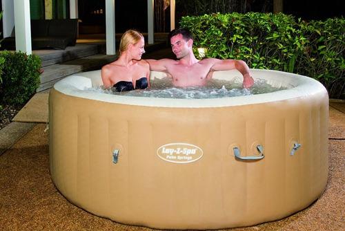 jacuzzi hidromasaje inflable - spa - burbujas - 6 personas