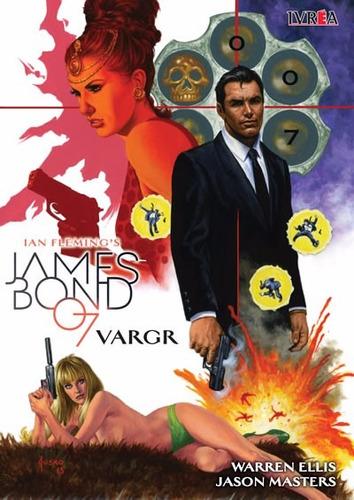 james bond 007: vargr comic ivrea
