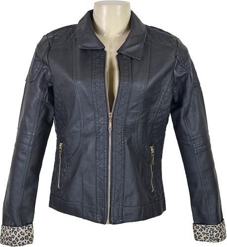 jaqueta de couro feminina couro ecologico a pronta entrega!!