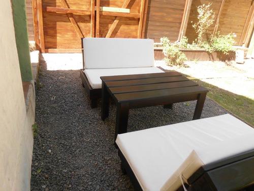 jardin exterior sillón