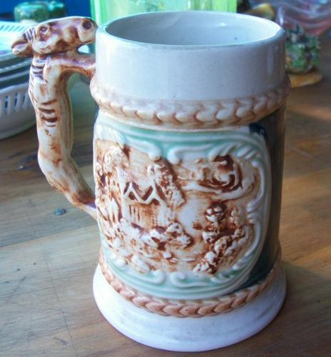 jarra cerveza cerámica sellada