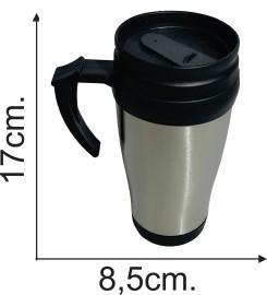 jarra termica de acero c/asa 450 ml
