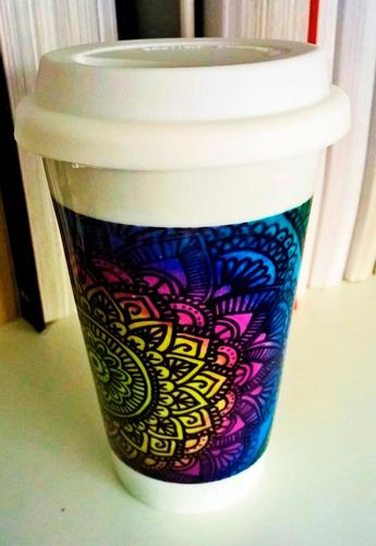 jarra térmica de cerámica personalizada