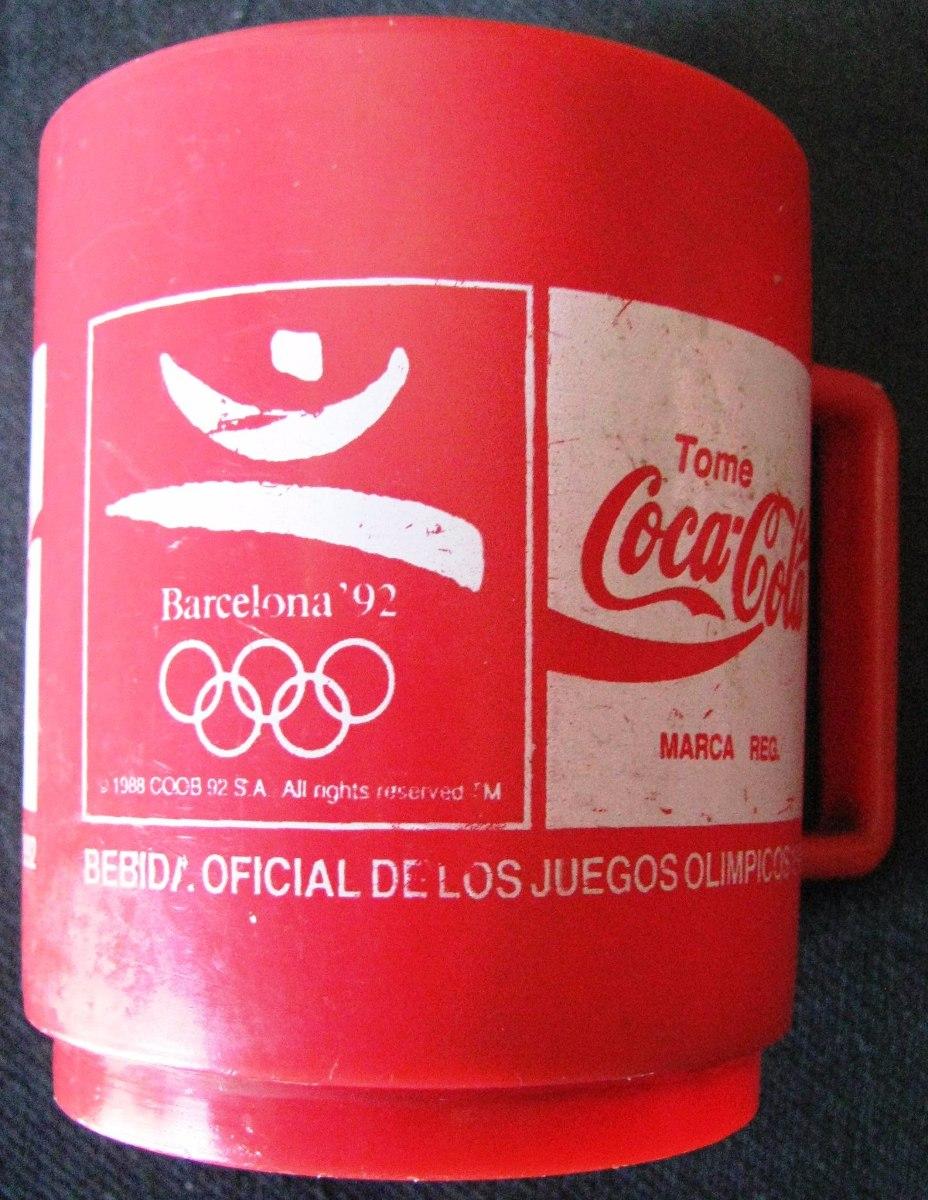 Jarro Coca Cola Con Logo Juegos Olimpicos Barcelona 92 350 00 En