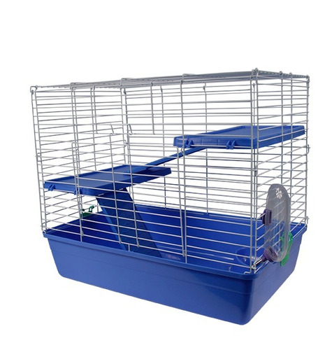 jaula amsterdam 2 para hurón, conejo, cuyo envio gratis