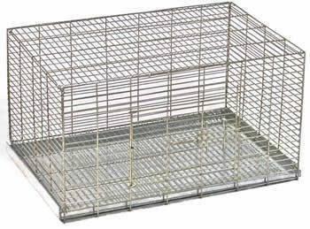 jaula mascotera con charola sanitaria conejos, cachorros etc