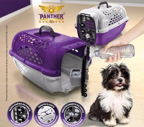jaula transportadora para perro y gato panther hasta 8kg
