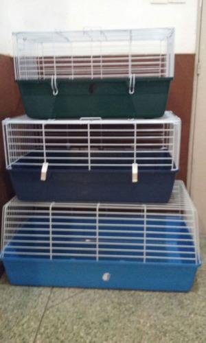 jaulas para erizos,cobayas,conejos varios tamaños