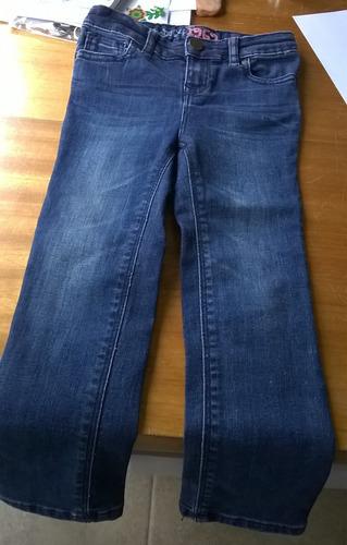 jean de niña marca gap. talle 3. azul. elastizado. nuevo.