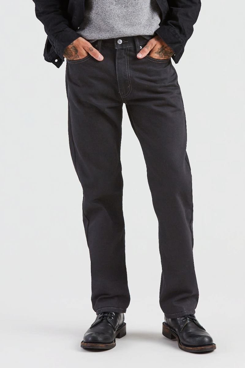 Jean Levi´s® Hombre 505 Regular Fit Black Black - $ 2.990 ...