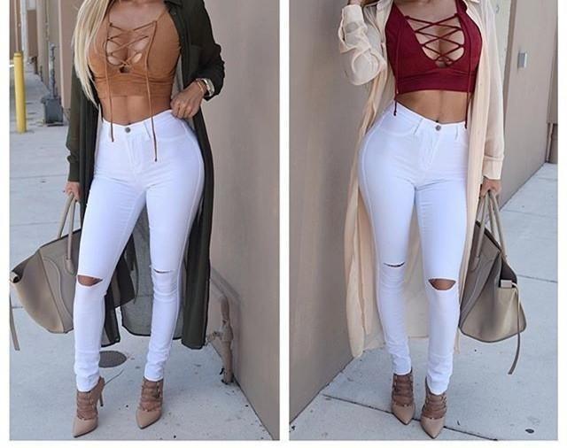 8adb47be2 Jeans Ajustados De Dama (por Encargue)