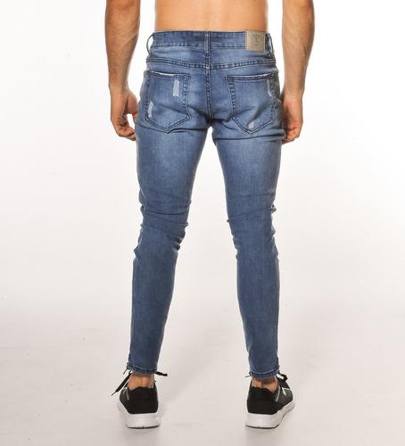 jeans hombre chupin skinny lycra / turk borusia