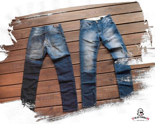 jeans taura - jhl100b - nueva coleccion - azul denim