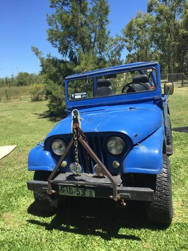 jeep cj5 4x4 motor&caja mercedes benz impecables. liq al 1ro