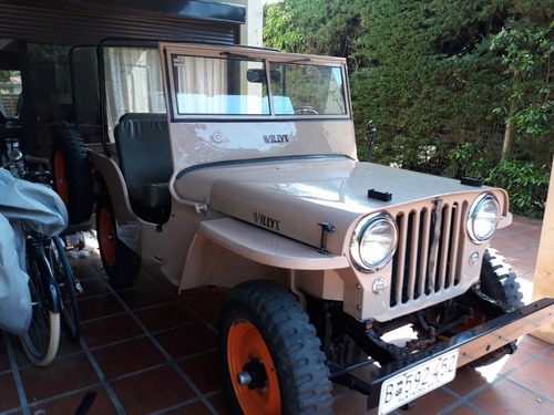 jeep willys cj-2a 1947 americano restaurado a full