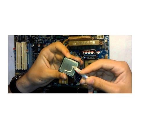 jeringa grasa siliconada pasta termica cpu micro procesador