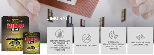 jimo rat cebo para ratas y ratones 4 unidades