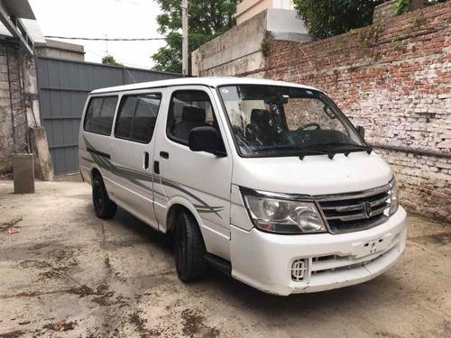 jin bei brilliance haise h100 diesel mini bus motor home