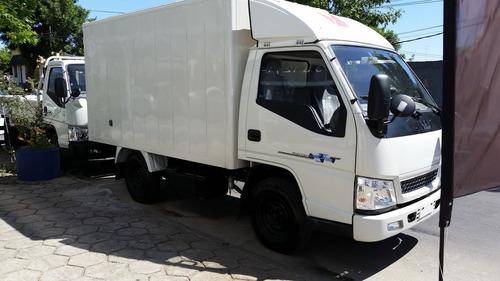 jmc nhr rueda simple box furgon, 0km!!