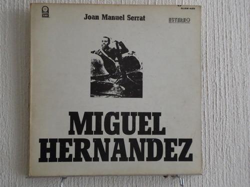 joan manuel serrat - miguel hernández