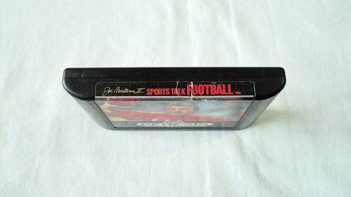 joe montana 2 sports talk football para sega genesis 1991