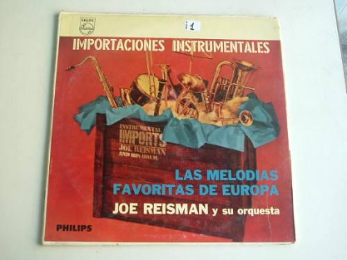 joe reisman las melodias favoritas de europa vinilo argentin