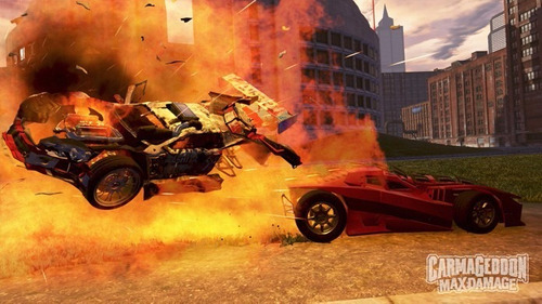 jogo midia fisica carmageddon max damage ps4 playstation