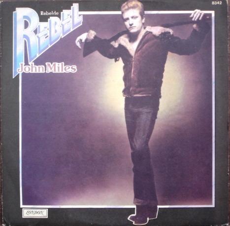 john miles - rebelde - lp original año 1976