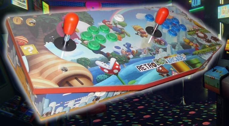 Joystick Arcade 10 Mil Juegos Retro Arcade Uy 16 500 00 En