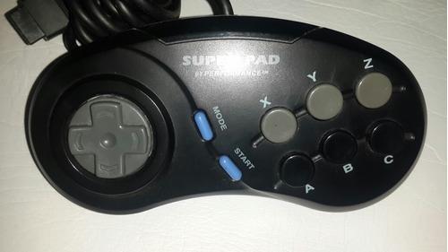 joystick control mando para sega mega drive o genesis oferta