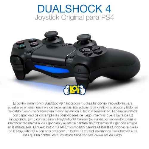 joystick original playstation 4 ps4 bluetooth oferta loi