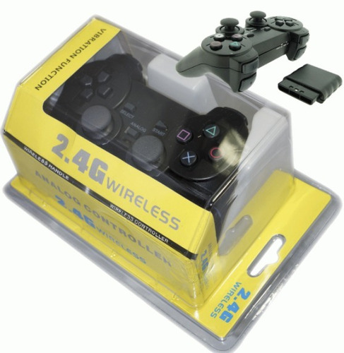 joystick para playstation 2 inalambrico